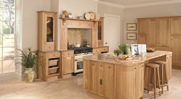 Timber Kitchen Installation in Bristol