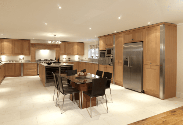 Rebecca wooden kitchen design in Bristol