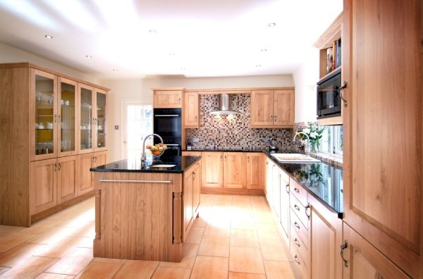 Ruskin Solid wooden kitchen design in Bristol