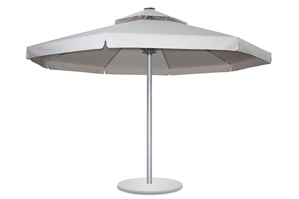 Sun Dream Silver Round Umbrella