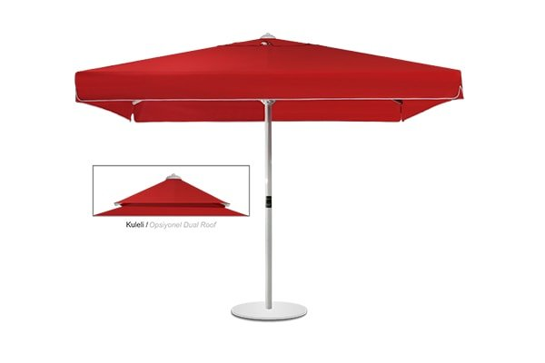 Maxi Bond Square Dual Roof Umbrella