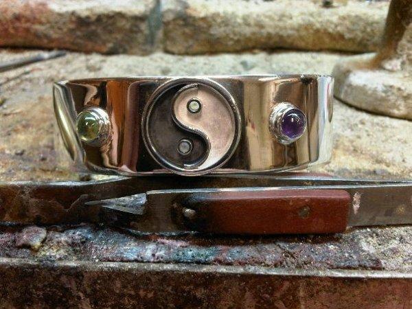 Yin Yang Spangarmband Juwelier Keen