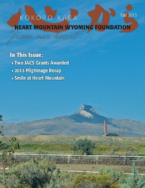 photo of heart mountain interpretive center newsletter kokoro kara